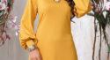 Платье из трикотажа – модная и практичная вещь в дамском гардеробе